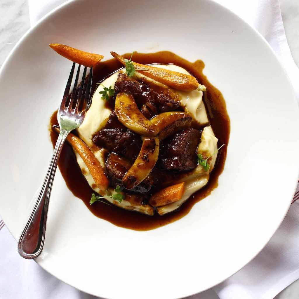 Bistro Niko restaurant food: beef